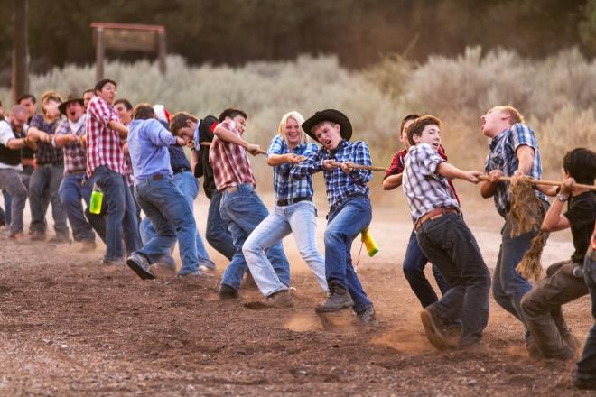 Cowboy Tug-o-War